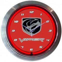 Horloge neon Dodge VIPER
