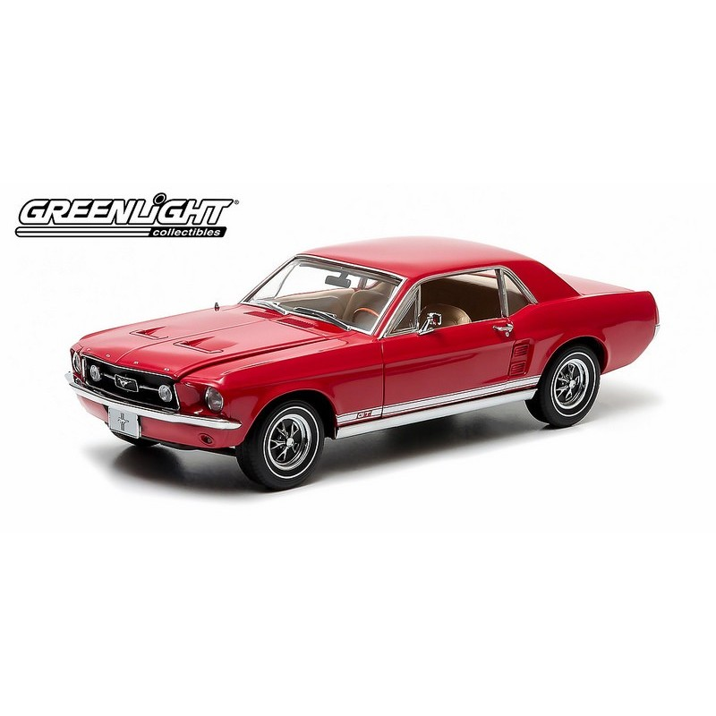 1967 mustang coupe rouge pomme passion diecast. Black Bedroom Furniture Sets. Home Design Ideas