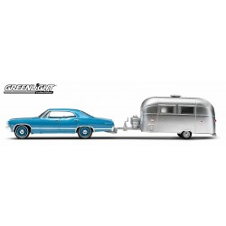1967 Chevrolet Impala Sport Sedan and Airstream 16' Bambi Sport