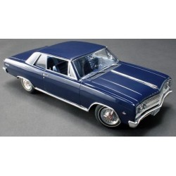 1965 Chevrolet Mailbu - Danube Blue Acme 1/18 A1805302  Passion Diecast