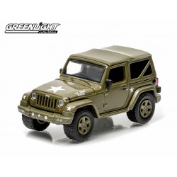 Greenlight 1/64 2014 Jeep Wrangler U.S. Army  (Hobby Exclusive) GL-29802 Passion Diecast