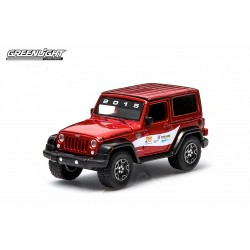 """Greenlight 1/64 2014 Jeep Wrangler """"2015 Trade Show Car"""" (Hobby Exclusive) GL-29806 Passion Diecast"""