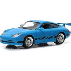1:43 Fast & Furious Fast Five (2011) 2001 Porsche 911 Carrera GT3 RS Blue