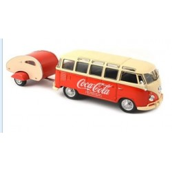 1962 VW Samba Bus with Trailer 1.43