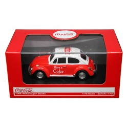 1966 VW Beetle Coca Cola Red 1.43