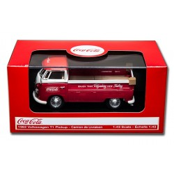 1962 VW T1 Pickup Rouge 1.43