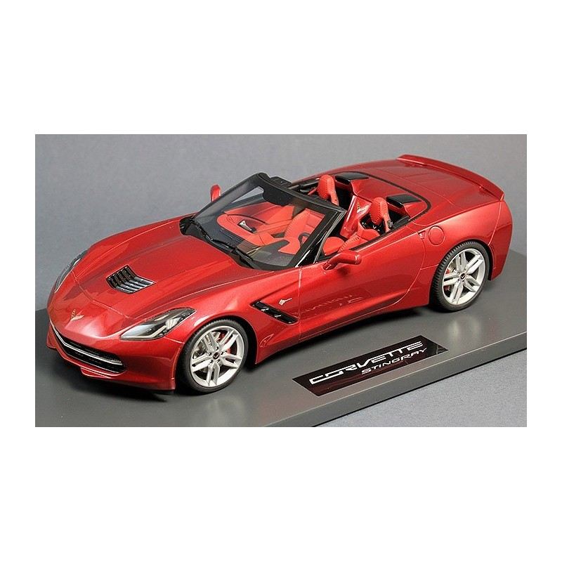 corvette stingray c7 spyder 2014 passion diecast. Black Bedroom Furniture Sets. Home Design Ideas