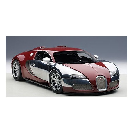bugatti veyron l 39 edition centenaire rouge passion diecast. Black Bedroom Furniture Sets. Home Design Ideas