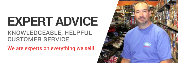 Expert Advice. Knowledgeable, helpful customer service. We are experts on everything we sell!