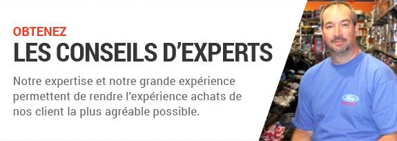 Obtenez. Les conseils d'experts. Notre expertise et notre grande expérience permettent de rendre I'expérience achats de nos client la plus agréable possible.